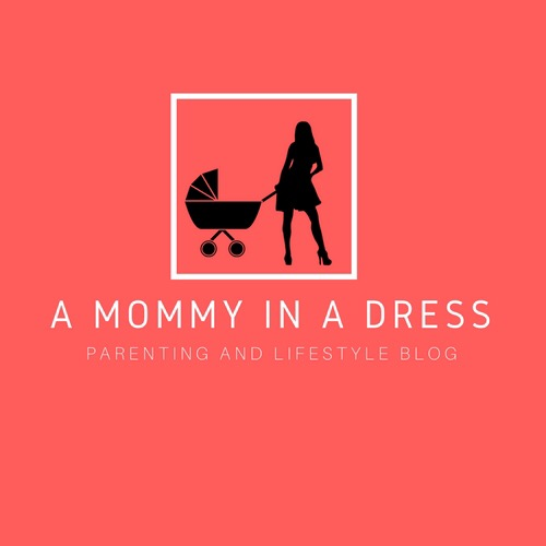 A mommy in a dress